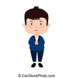 little boy first communion character