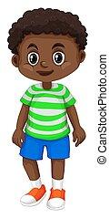 Little boy from Haiti