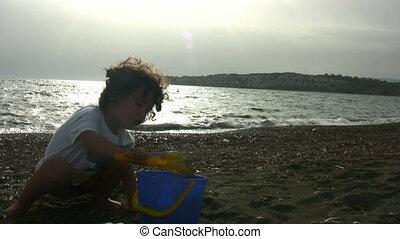 Little Boy Playing Full HD1080p