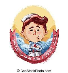 Little Brave Sailor