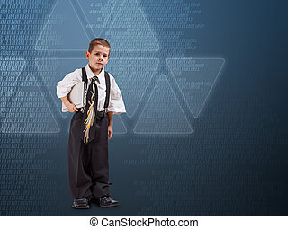 Little business person - Image of little business person...