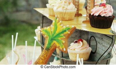 Little cakes Pirate birthday child