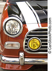 LIttle Car - A section of a beautiful motorcar.