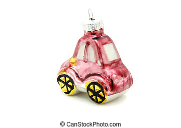 Little car christmas tree toy