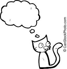 little cartoon cat