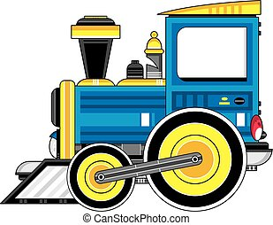 Little Cartoon Train