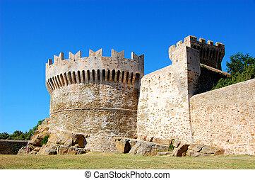 Little castle in Tuscany