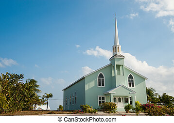 Church on Little Cayman Island