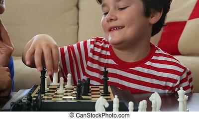 Little Champion - Child winning the race