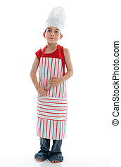 Little chef thinking