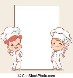 Little chefs.