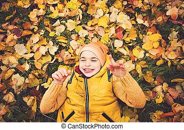 Little child boy smiling, portrait