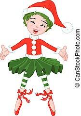 Little Christmas Ballerina