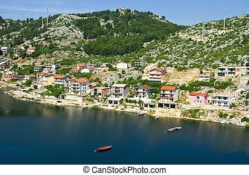 Little coastal village in Croatia