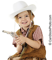 Little Cowgirl Portrait