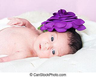 Little cute gir