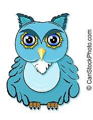 Little cute Owl