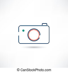little digital camera icon