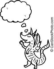 little dragon cartoon