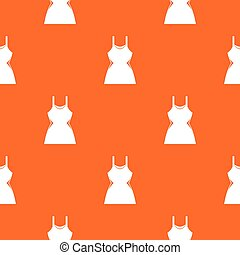 Little dress pattern seamless