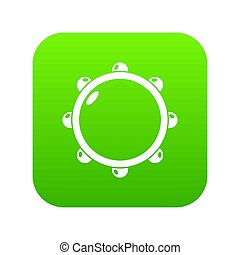 Little drums icon green