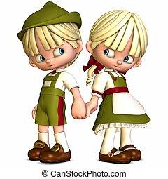Little Friends - Toon Figures