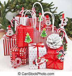 Little gifts for christmas time - LIttle colorful gifts and...