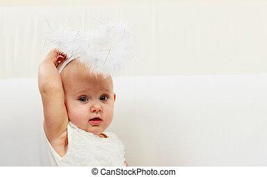 Little girl child portrait