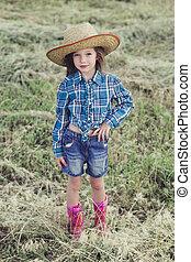 little girl Cowboy