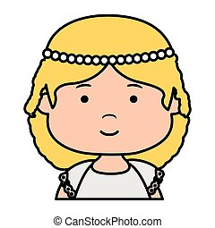 little girl first communion character