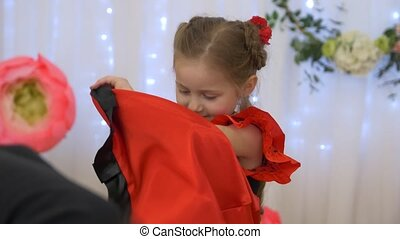 Little Girl Flamenco - Little girl flamenco spanish dance...