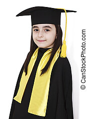 little girl graduation