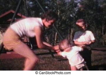 Little Girl Learning To Walk (1966)