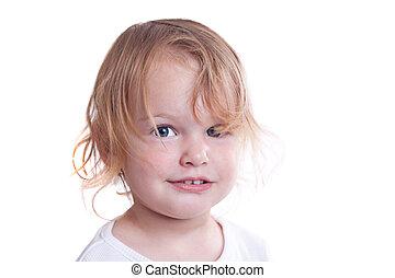 Little girl portrait.