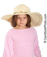 Little Girl Straw Hat