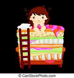Little girl who cannot sleepeps8