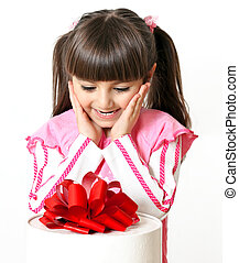 little girl with a great gift
