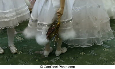 Little girls feet