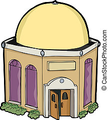 Small generic religious building for any religion