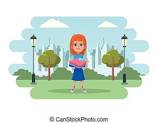 little kid avatar cartoon character