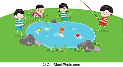 little Kid Fishin