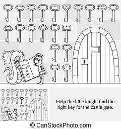 Little knight puzzle