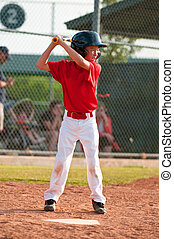 LIttle league baseball batter - Little league baseball...
