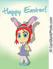 Little Miss Bunny - Happy Easter