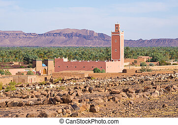 Little mosque in Morocco