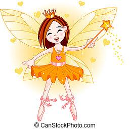 Little orange fairy