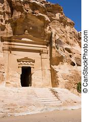 Little Petra Tomb Entrance