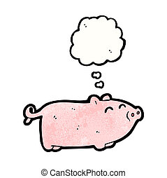 little pig cartoon