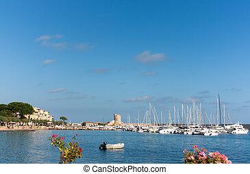 Little Port On Elba Island