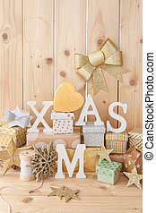Little presents for christmas - Little presents and glittery...